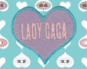 I Heart Lady Gaga Patch (Free Shipping)