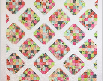 Oh My Darling, Quilt Pattern, PDF, Easy, Jelly Roll Friendly, Baby, Lap, Twin, Queen, King, BusyHandsPatterns,