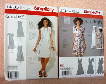 Lot #29A, Sewing Patterns for Misses, Set of Two