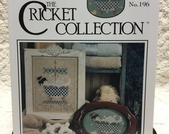 Cricket Collection Bed & Bath II Cross Stitch Leaflet