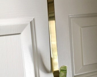Wreath Hanger, Wreath Holder, Gold Wreath Hook, Door wreath, Hanger for Wreaths, Metal Door Hook, Door Hook, Door Wreath Hook, Wreath Access
