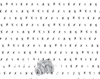 7ftx7ft X- Hipster- Vinyl Photography Backdrop- Black and White Photo Background