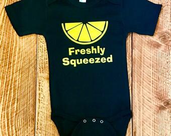 Freshly Squeezed! Baby one piece bodysuit