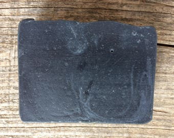 Charcoal Olive Oil and Tallow Soap Bar, Charcoal Soap Bar, Essential Oil Soap, Detox Soap, Gift for Dad, Gift for him, Chemical Free