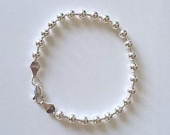 BRACELET in Silver 925/1000, pearls