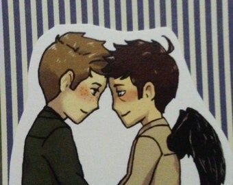 Supernatural - Destiel - sticker - ver.2