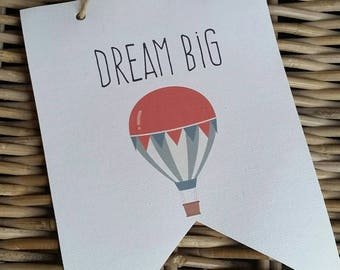 Dream Big Canvas A5 CAN BE personalised