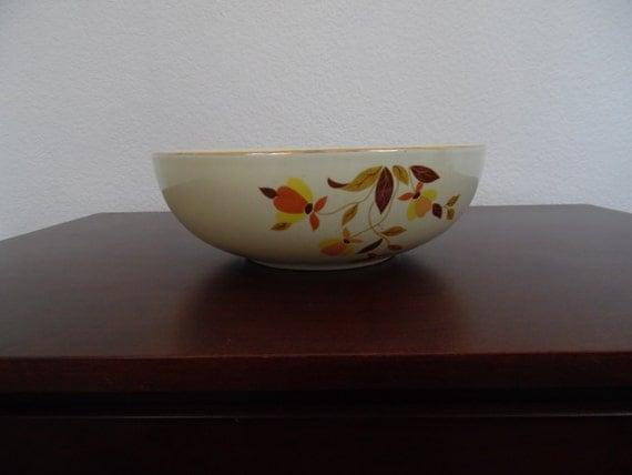 """Autumn Leaf China 9"""" 2 Quart Salad Bowl"""