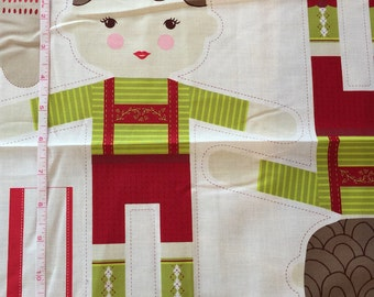 A Walk in the Woods Hansel and Gretel Doll Panel by Stacey Iset Hsu for Moda Fabrics