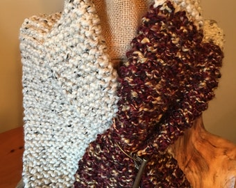 Great Warm Blended Wool Winter Scarf