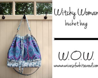 Witchy Woman Bucket Bag PDF Sewing Pattern