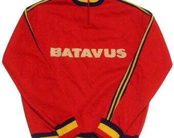 70's Deadstock vintage Batavus cycle jersey made in Belgium
