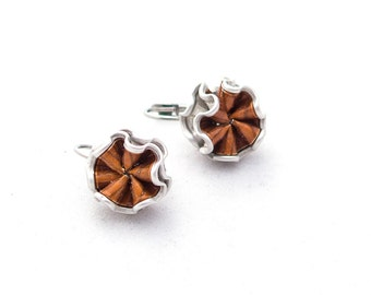 Upcycling earring Brisur Cabrera
