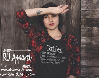 Coffee Shirt, super soft tee, definition shirt, funny, mom life, trendy cool mom gifts, mom life, Birthday, small business owner, Etsy