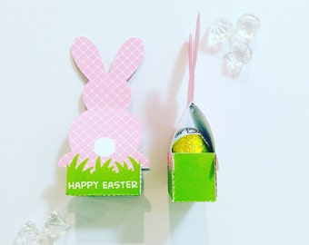 Easter bunny pocket (fits two mini eggs)