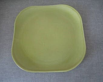 American Modern Chartreuse Chop Plate by Steubenville