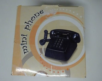 Retro Mini Telephone By Polyconcept USA, New In Box - FREE SHIPPING