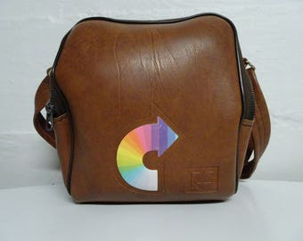 Vintage Kodak/Poloroid Instant Camera Case Bag With Strap - FREE SHIPPING