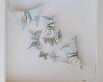 Origami Butterflies - Southampton Map