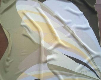 100% silk shawl, foulard Loredano