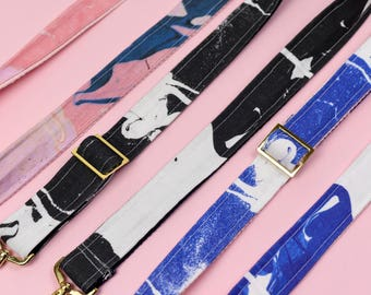 Marbled Camera Strap