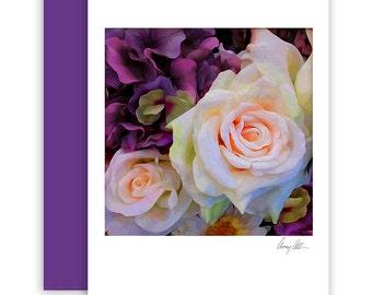 Blooming Roses  Note cards beautiful Artwork