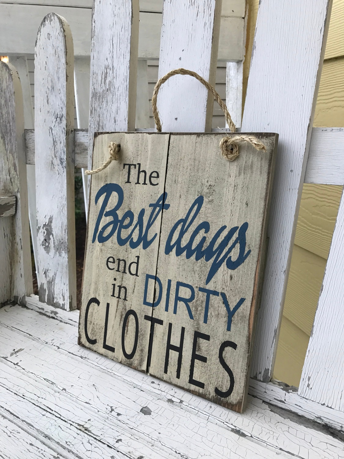 Dirty Clothes Rustic Sign Bathroom Decor Laundry Room