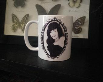 Bettie Page Coffee Mug