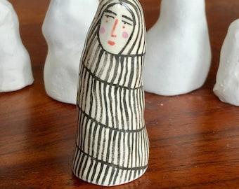 Rachael - Ceramic Coilpot Woman