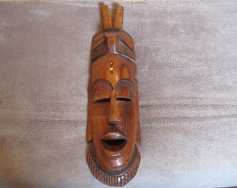 1970 Wooden Mask