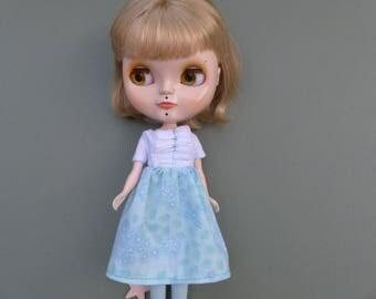 Blythe Dress Set - Dress And Socks, Ice Ice Baby SALE