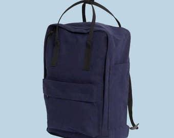 SALE: Royal Blue Cotton Backpack