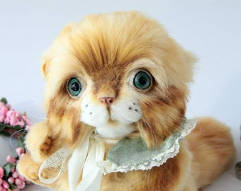 Ruby Artist teddy kitty OOAK