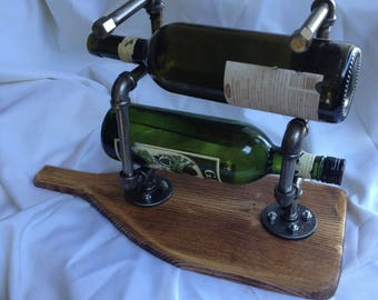 Pipe wine Bottle Stand