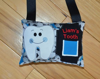 Unisex Tooth Fairy Pillow/Customizable/Personalized/Embroidery