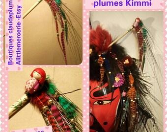 Stings hair feathers Kimmi