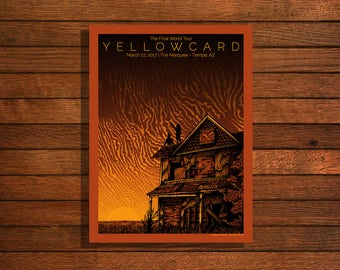 YELLOWCARD, The Final Tour @ The Marquee, Tempe, AZ - 3/22/17