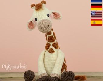Crochet Pattern - Giraffe Romy