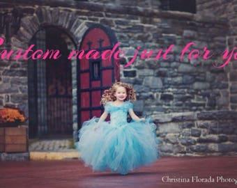Custom Ariel dress 4-5