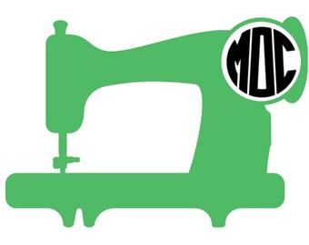 monogram decal machine
