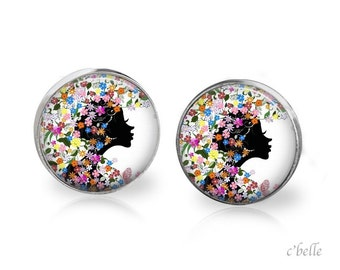 Earrings floral 5