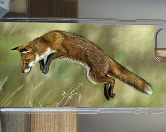 Fox Hunting Phone Case by Grace Scott