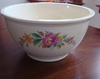 Homer Laughlin FIESTA  KITCHEN KRAFT Large Mixing Bowl!