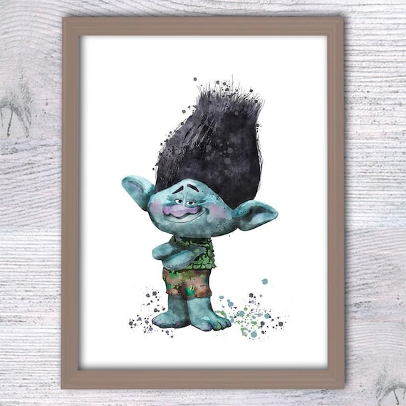 Trolls Branch Poster Art Prints