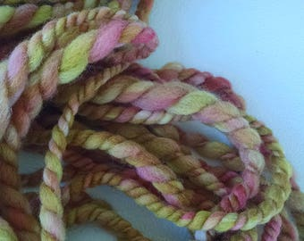 Handspun Yarn - Art Yarn - Yarn - Textured Yarn - Super Bulky Yarn - Chunky Yarn - Doll Hair - Handspun - Artisan Yarn - Handspun Art Yarn
