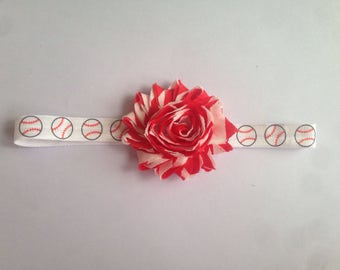 Customizable baseball baby/toddler/child headband