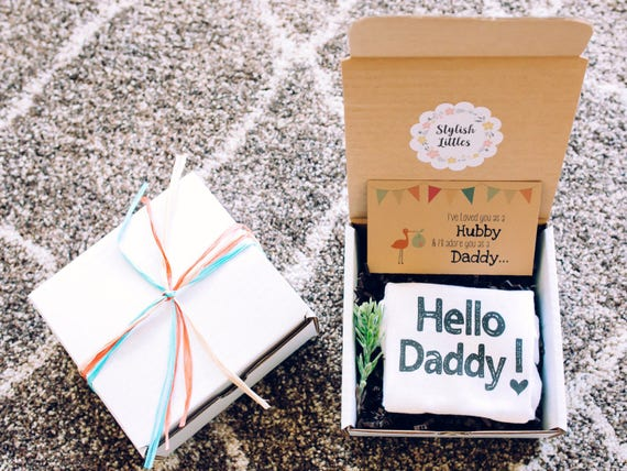 Pregnancy Announcement to Husband Hello Daddy Pregnancy