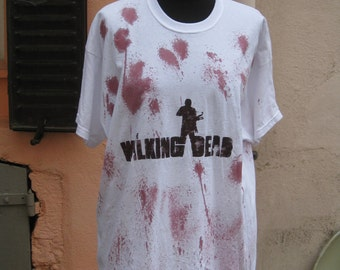 t-shirt unisex walking dead amc zombie geek twd
