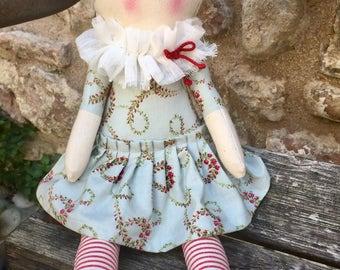Soft cloth rag doll doll doll