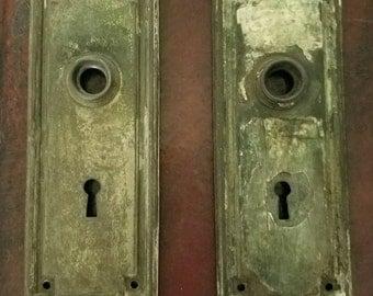 Antique Door Knob with Door Plates